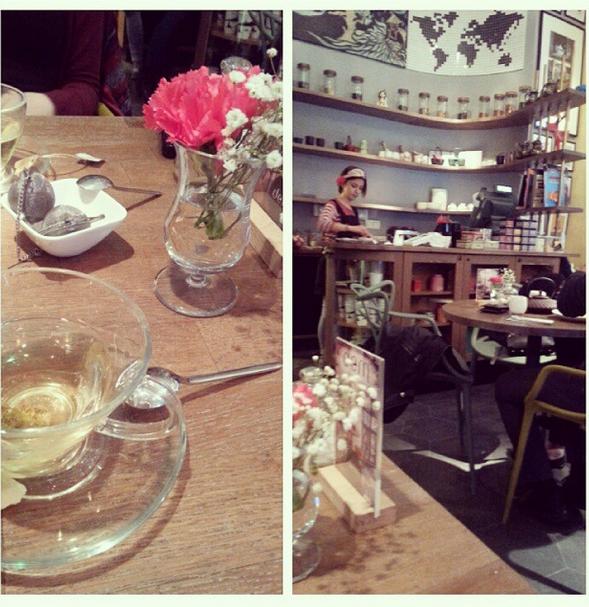 melon çay ve servis elemanı